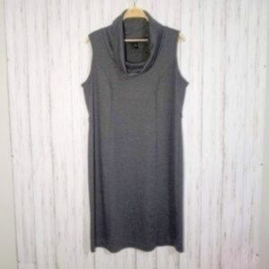 Lane Bryant Sleeveless Cowl Neck Shift Dre…
